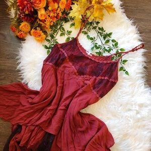 🍂 FALL ARRIVAL 🍂 FREE PEOPLE FLOWY DRESS